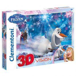 Puzzle 3D Ledové království 104 dílků