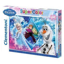 Puzzle Supercolor 250 dílků Ledové království