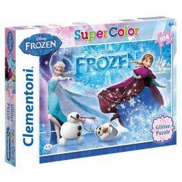 Puzzle Supercolor 104 Glitter,Ledové království