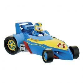 Donald závodník v autě