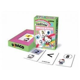 Bonaparte Vzdělávací karty Didaco Počítání - Hello Kitty