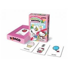 Bonaparte Vzdělávací karty Didaco Abeceda - Hello Kitty