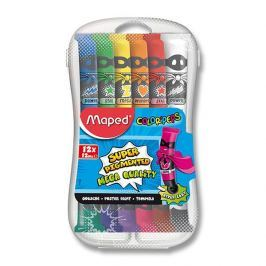 Temperové barvy Maped Paint 12 tubx12 ml,plast.box
