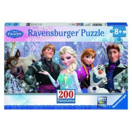 Ravensburger Puzzle Disney Ledové království, 200 dílků, panorama