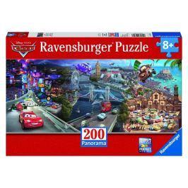 Ravensburger Puzzle Disney Auta 200 dílků Panarama