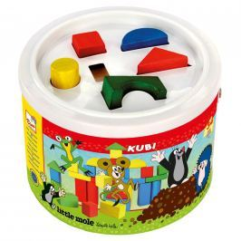 Kostky v kbelíku Krtek