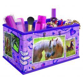 Ravensburger Puzzle 3D Úložná krabice Kůň