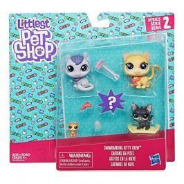 Hasbro Littlest Pet Shop Rodinné balení zvířátek
