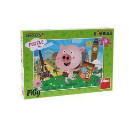 EPline Puzzle Pigy 24 dílků Pro kluky