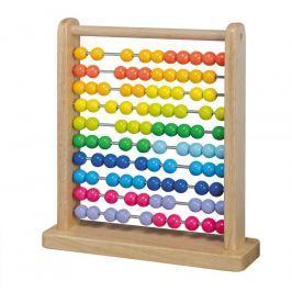 Johntoy dřevěné počítadlo Dřevěné hračky