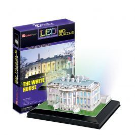 Puzzle 3D White House / led svítící