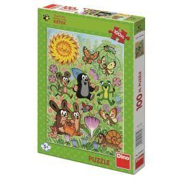 Dino Puzzle 100xl dílků Krtek a jarní den