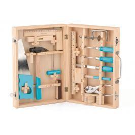 Kovové nářadí v dřevěném kufříku Pro kluky