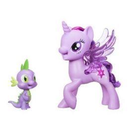 Hasbro My Little Pony Hrací set se zpívající Twilight Sparkle a Spi Pro holky