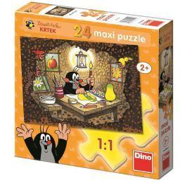Dino Puzzle 24 dílků floor Krteček maluje