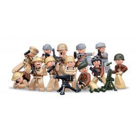 EPline Figurka vojáci WWII + sběratelská krabička
