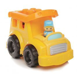 Mattel Mega Bloks First Builders vozidla pro malé stavitele