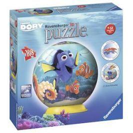 Ravensburger Puzzleball 3D 108 dílků Disney Hledá se Dora