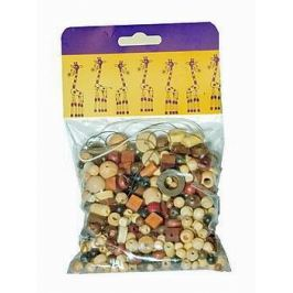 Mix perlí 100g hnědo-přírodní