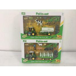 Farmářský set s traktorem 2 druhy Pro kluky