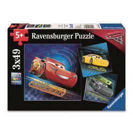 Ravensburger Puzzle Disney Auta 3 3x49 dílků