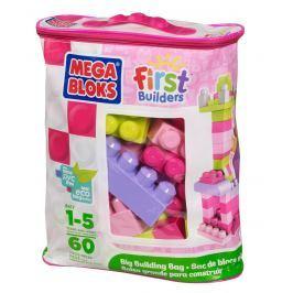 Mega Bloks First Builders Big Building Bag Girls 60ks Stavebnice Megabloks