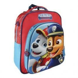 Školní batoh Tlapková patrola červeno/modrý