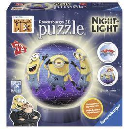 Ravensburger Puzzle Mimoňové 72 dílků: Já Padouch 3 svítící puzzleball