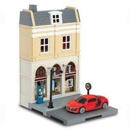 Sada Faschion shop + kovový model auta 1:64 Pro kluky