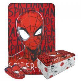 Sada deka flees + pantofle Spiderman