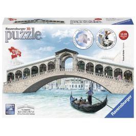 Puzzle 3D Rialto most, Benátky 216 dílků