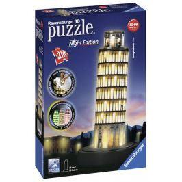 Puzzle 3D Pisa (Noční edice) 216 dílků