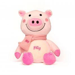 Plyšové prasátko Pigy s růžovou šálou 30,5 cm