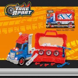 Šroubovací náklaďák s nářadím zvuk a světlo
