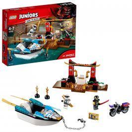 LEGO® Juniors LEGO® Juniors 10755 Pronásledování v Zaneově nindža člunu