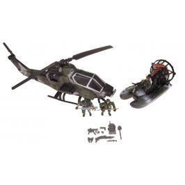 Vojenský set s helikoptérou