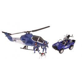 Policejní set s helikoptérou