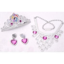 Disney princezny - Set s korunkou a šperky pro princeznu