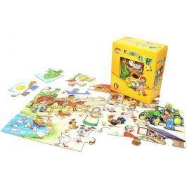 Puzzle BIG BABY - FARMA 24 dílků