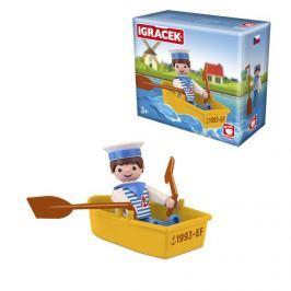 Igráček Igráček námořník s lodičkou