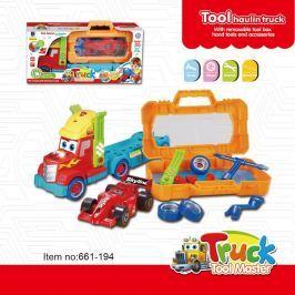 Šroubovací náklaďák s nářadím a formulí zvuk a světlo Pro kluky