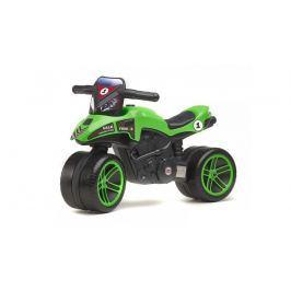 Odrážedlo motorka Racing Team zelené
