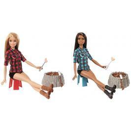 Barbie Barbie panenka u táboráku