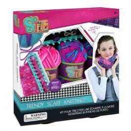 Moderní pletení - šála