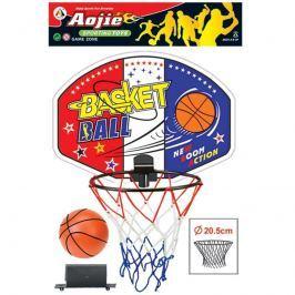 Basketbalový set z plastu s míčem