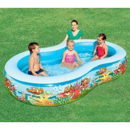 Bazén laguna 262x157x46 cm