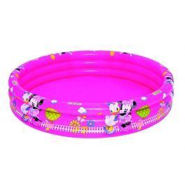 Bazén nafukovací Mickey Mouse 3 pruhy průměr 122 cm