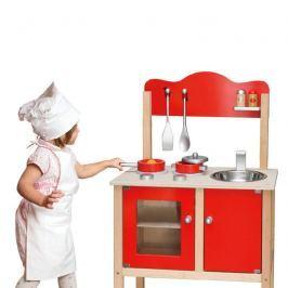 Kuchyň červená + příslušenství