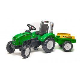 Falk Traktor šlapací Lander 240X s valníkem zelený