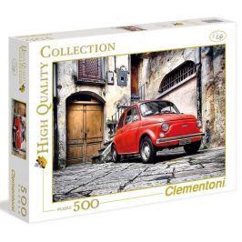 Puzzle 500 dílků FIAT 500